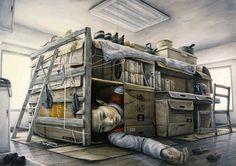 Tetsuya Ishida-surrealist artist