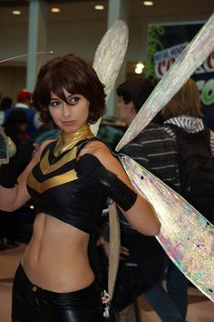 Wasp, Avengers cosplay.