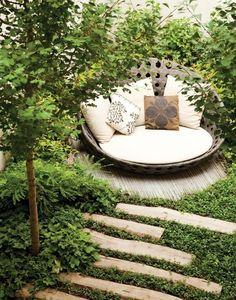 Garten Terrasse Wohnideen Möbel Dekoration Decoration Living Idea ... Dachterrasse Im Ostasiatischen Stil