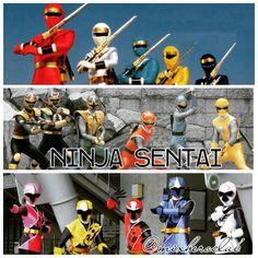 Ninja Sentai - Kakuranger, Hurricanger and Ninniger