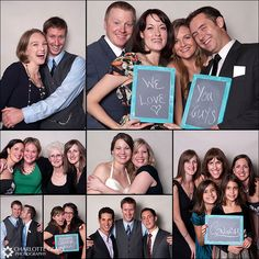 Tracy and John: Wedding photo booth madness!