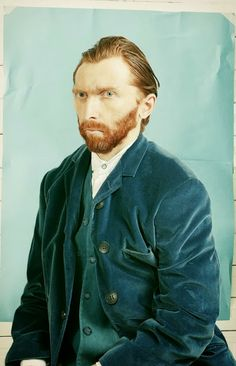 Guy who looks EXACTLY like Van Gogh