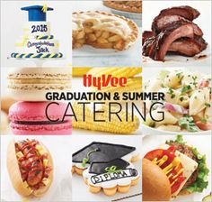 Planning graduations and summer parties doesn't have to have be a lot of work. Call in the pros in the Hy-Vee catering department.