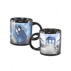 6cbd2dbb997a Dr Who Tardis Heat Changing Mug. This great mug is ideal for fans of The