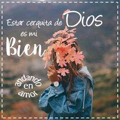 """Si quieres estar más cerca de Dios, #Ora dos o más veces al día, aún cuando no tengas ganas de hacerlo, #Confiesatuspecados, #PiensaenDios Él siempre está contigo como un verdadero #amigo, y #Lee la #PalabradeDios """"Mas para mí, estar cerca de Dios es mi bien; en DIOS el Señor he puesto mi refugio, para contar todas tus obras."""" (Salmo 73:28) #MasCercadeDios #Bien #DiosEsAmor #DiosEsBueno #DiosesFiel #DiosEsPoderoso #Cristianos #Biblia #PalabradeDios #Reflexiones #frases #Consejo…"""