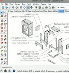 Learn to navigate SketchUp woodworking models with free with lessons on SketchUp software for Woodworkers
