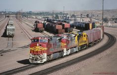 https://flic.kr/p/rkESYR | (SEE & HEAR)----AT&SF 827, e/b 108, Barstow, CA.   6-06-1996 | (SEE & HEAR)----AT&SF, Santa Fe #827, lead s eastbound 108, at Barstow, CA.   6/06/1996  www.youtube.com/watch?v=xdgLkZNYaf4  fb.