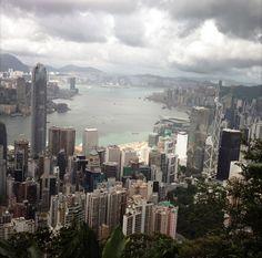 HK Harbour looking East
