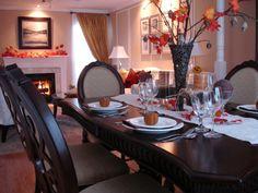 Soaring Centerpiece - 15 Stylish Thanksgiving Table Settings on HGTV