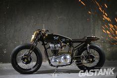 8e1c4ad9263a33 ANDIKA PRATAMA   Matchless 1962 Model G3 · JakartaMotorräder · matchless  black leather ...