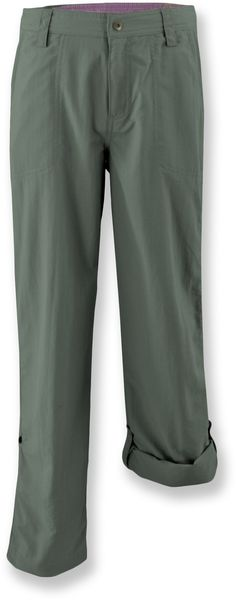 White Sierra Trail Roll-Up Pants - Girls' - Special Buy - REI.com