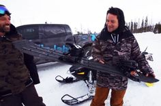 World's First 3D Printed Snowboard Cutting Edge [VIDEO]