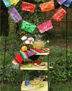 decoración-fiesta mexicana