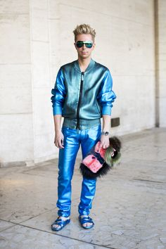 Marie Claire Editor Street Style: Kyle Anderson