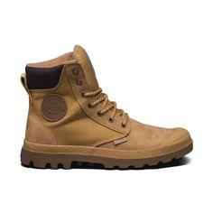 Palladium waterproof boots.  PAMPA SPORT CUFF WPN