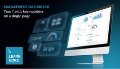 The Dashboard brings you a better tool for analysing your fleet's performance, through the visualization of several Key Performance Indicators (KPI). Learn more: http://www.frotcom.com/wp-content/uploads/2014/08/Frotcom-Management-Dashboard-Flyer.pdf