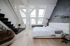 Grey Loft attic reconstruction in Prague