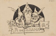 les Mestre: ll. Children's Literature, Fantasy Creatures, Gnomes, Elves, Fairies, Fantasy Art, Craft Ideas, Ink, Illustration