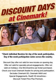 Cinemark brands include Cinemark, Century Theatres, CineArts, Rave and Tinseltown. *Ticket Monster: AAA members, spouses and dependents are eligible for 15% discount off all concerts, theater and sporting event tickets as well as up to 50% off all attraction tickets nationwide.