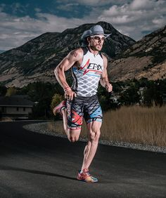 For James Lawrence, each week of peak training means cramming in lots of exercise and enough calories to fuel a family of four.