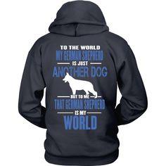 German Shepherds Are My World