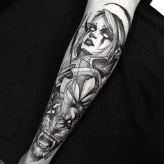 World of warcraft sleeve tattoo - 80  Awesome Examples of Full Sleeve Tattoo Ideas  <3 <3