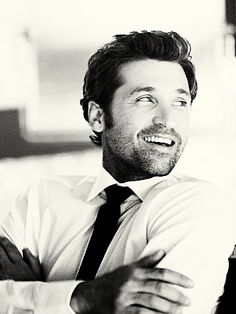 patrick dempsey..i love everything ever wrinkle and all