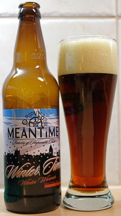 Meantime Brewing Co. - Meantime Winter Time  Winter Warmer 5,4% pullo