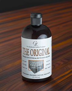 Grothouse Original Oil Finish for Checkerboard Butcher Blocks