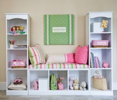 Pin of the day: Can you make this windowseat/bookshelf combo with Ikea Billy Bookcases?   Recession Home