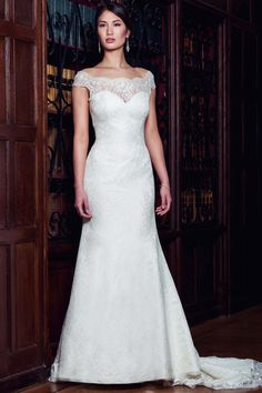 Timeless and elegant. This gown is perfect for whatever wedding style you're having!  Skyler by Augusta Jones