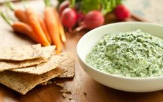 Lemon-Ricotta Kale Dip - Ryan's Aunt made this & it's super yummy! Can't wait to have it again!