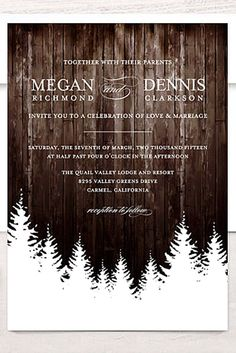 New Free of Charge 24 Elegant Winter Wedding Invitations Concepts Wedding Invitation Cards-Our Methods When the time of your wedding is repaired and the Place is book Elegant Wedding Invitations, Christmas Wedding Invitations, Wedding Invitation Wording, Elegant Invitations, Invitation Kits, Wedding Stationary, Shower Invitations, Elegant Winter Wedding, Winter Weddings