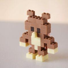 Un Lego de chocolate