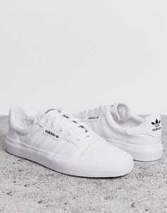 adidas withe shoes
