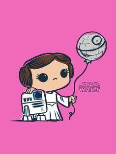 Star Wars princesa Leia e Bb8 Star Wars, Star Wars Film, Star Wars Pop Art, Star Trek, Star Wars Logos, Star Wars Poster, Images Star Wars, Star Wars Pictures, Star Wars Party