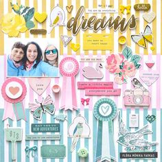 Image result for mother daughter double scrapbook page layouts