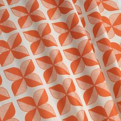 Rosette Tile fabric combines mid-century modern Scandinavian style with Eastern flair. Beautifully soft geometric design that's easily adaptable. Fabric Rosette, Rosettes, Copper Blush, Contemporary Fabric, Fabric Remnants, Curtains With Blinds, Color Of The Year, Scandinavian Style, Soft Furnishings