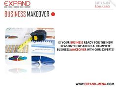 Is your business ready for the new season? How about a complete business makeover with our experts?