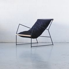A Sling Chair Inspired by Clouds (Design Milk) - interior design Steel Furniture, Cool Furniture, Modern Furniture, Furniture Design, Outdoor Furniture, Modern Chairs, Furniture Making, Furniture Online, Furniture Stores