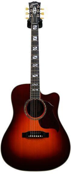 Get yourself the Gibson Songwriter Studio Cutaway Progressive Autumn Burst…