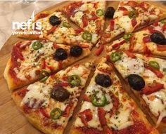 Pizza #pizza #pizzatarifleri #nefisyemektarifleri #yemektarifleri #tarifsunum #lezzetlitarifler #lezzet #sunum #sunumönemlidir #tarif #yemek #food #yummy Vegetable Pizza, Carne, Dinner Recipes, Vegetables, Food, Pizza Pizza, Dishes, Recipes, Balcony