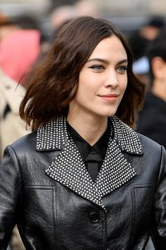 7ec827268319 Alexa Chung attends the Miu Miu show as part of the Paris Fashion Week  Womenswear Fall