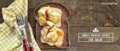 Αυγοσαλάτα με Γιαούρτι! Egg Salad, French Toast, Salads, Brunch, Gluten Free, Eggs, Beef, Breakfast, Food