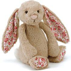 Jellycat Bashful Bunny Blossom Beige Medium