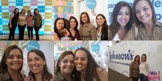 Desvirtuando e revendo as amigas no Evento Johnson´s muito mais para o seu bebê http://www.maevaidosa.com/2015/02/johnsons-muitomaiparaoseubebe.html