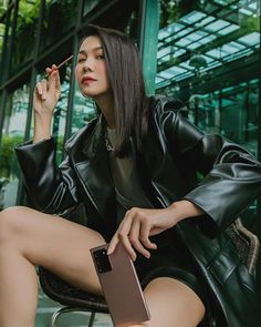 Phạm Thanh Hằng (@phamthanhhang_) • Instagram photos and videos Moto Jacket, Leather Jacket, Jackets, Bags, Instagram, Fashion, Studded Leather Jacket, Down Jackets, Handbags