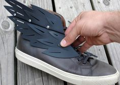 Lace-On Pair of Shoe Wings