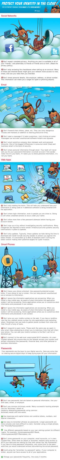 26 Vital Tips For Better Cloud Security [Infographic]
