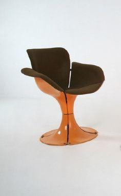 Jean Dudon; 'Flower' Chair, 1968.